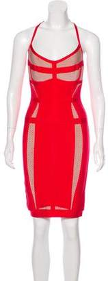 Herve Leger Elettra Bandage Dress