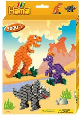 Hama beads Dinosaurs Bead Set