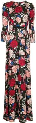 Erdem floral printed dress