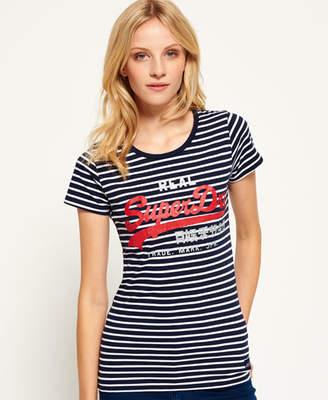 Superdry Vintage Logo Breton Stripe T-shirt