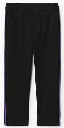 MANGO Girls Side Stripe Trouser