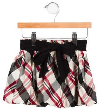 MonnaLisa Girls' Plaid Skirt