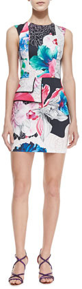 Kelli & Talulah Flame of Passion Floral-Print Dress