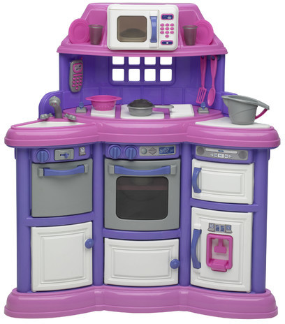 American Plastic Toys 22 Piece Homestyle Kitchen Set