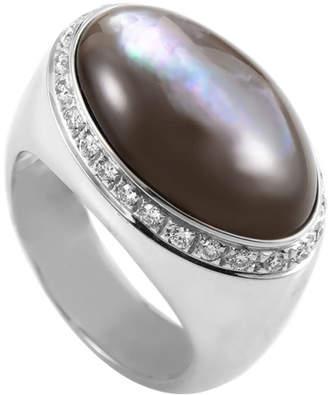 Mother of Pearl Diamond Select Cuts 18K 0.65 Ct. Tw. Diamond & Ring