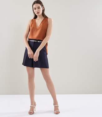 Reiss Lilea Short Striped Tailored Shorts