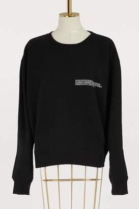 Calvin Klein Cotton crew neck sweater