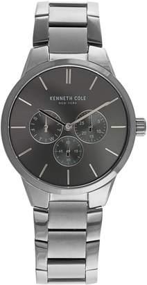 Kenneth Cole New York Dress Sport Multifunction Stainless Steel Bracelet Watch
