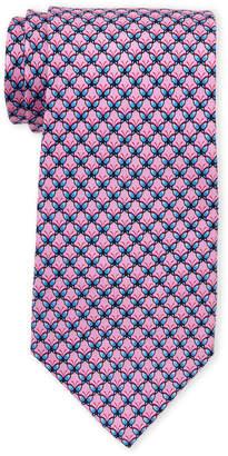 Pierre Cardin Neat Butterfly Print Silk Tie