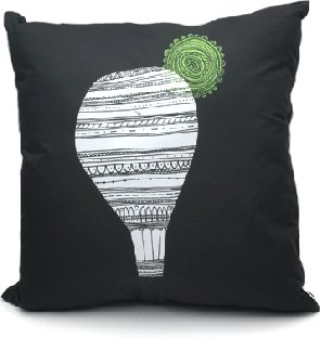 Pin It Upper Playground Lightbulb Pillow