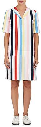 Thom Browne THOM BROWNE WOMEN'S STRIPED DROP-WAIST SHIFT DRESS $2,200 thestylecure.com