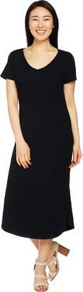 C. Wonder Regular Essentials Slub Knit Midi Dress