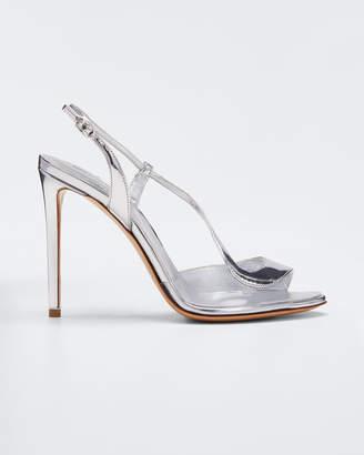 Nicholas Kirkwood Metallic Strappy High Sandals