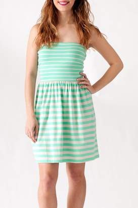 Ocean Drive Striped Tube Dress