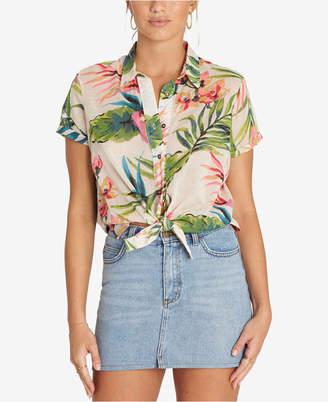 Billabong Juniors' Cotton Cropped Shirt