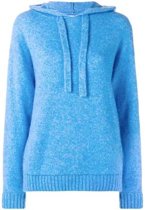 Laneus fine knit hoodie