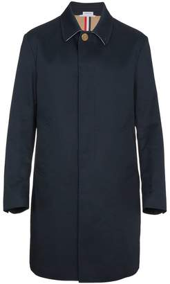 Thom Browne Bal Collar overcoat