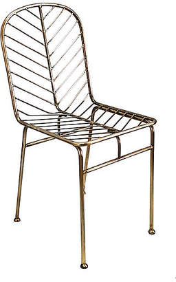 Selamat Justina Blakeney For Jani Side Chair - Antiqued Brass