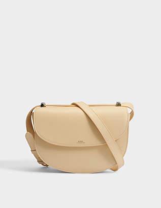 A.P.C. Genève Bag in Beige Naturel Smooth Leather