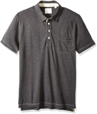 7323db4308 Billy Reid Men s Short Sleeve Pensacola Polo With Pocket