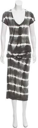 Young Fabulous & Broke Short Sleeve Draped Maxi Dress