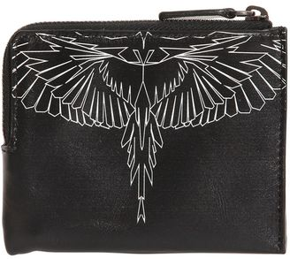 Asier Printed Leather Wallet $177 thestylecure.com
