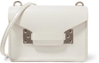 Milner Nano Leather Shoulder Bag - White