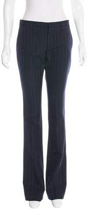 Gucci Spring 2016 Flared Pinstripe Pants w/ Tags