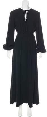 Co Long Sleeve Maxi Dress