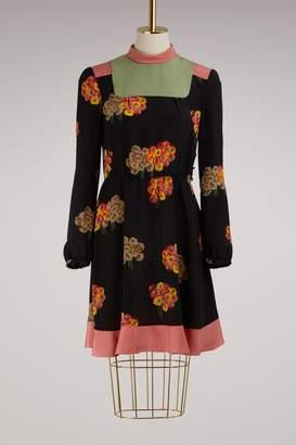 RED Valentino Flower Printed Dress