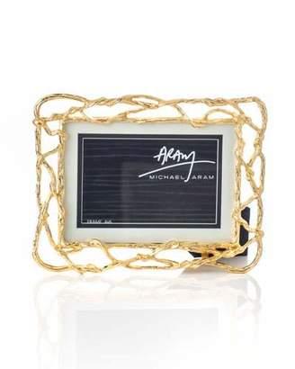 "Michael Aram Wisteria Gold Frame, 5"" x 7"""