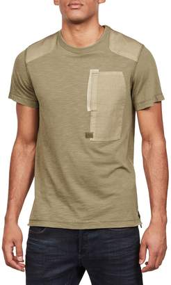 G Star Raw Arris Cotton Blend Pocket Tee