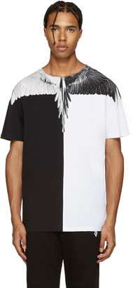 Marcelo Burlon County of Milan Black & White Lagunas Bravas T-Shirt $250 thestylecure.com