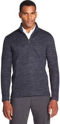 Van Heusen Men's Slim-Fit Fleece Quarter-Zip Sweater