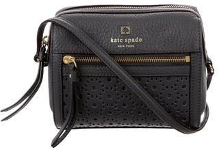 Kate SpadeKate Spade New York Perforated Leather Crossbody Bag