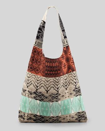 Twelfth St. By Cynthia Vincent Pueblo Blanket Shopper Bag