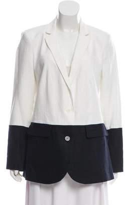 MICHAEL Michael Kors Contrast Structured Blazer w/ Tags