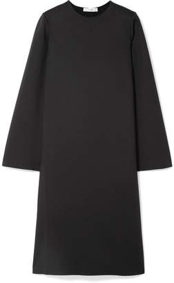 The Row Elmi Stretch-scuba Dress - Black
