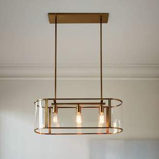 west elm Trough Chandelier