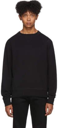 Naked & Famous Denim Denim Black Heavyweight Terry Sweatshirt