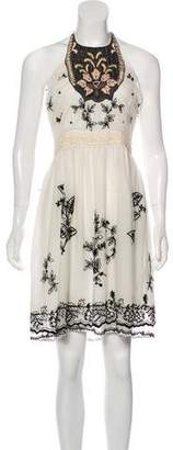 Anna Sui Embroidered Lace Dress