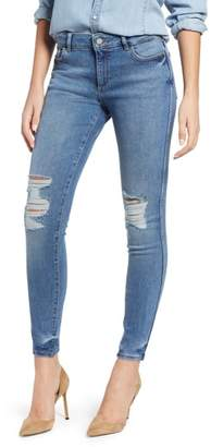 DL1961 Emma Ripped Low Rise Skinny Jeans