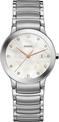 Rado Centrix Diamonds Bracelet Watch, 28mm