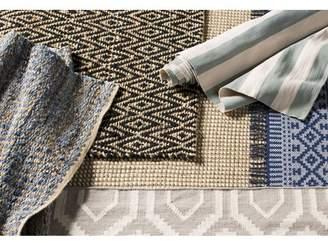 Beachcrest Home Kellar Hand-Woven Natural/Blue Area Rug Rug