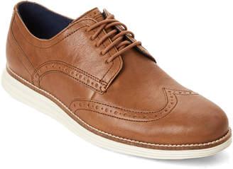 Cole Haan Dogwood Tan Original Grand Wingtip Shoes