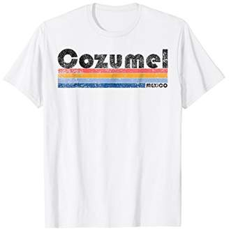 Vintage 1980s Style Cozumel Mexico T-Shirt