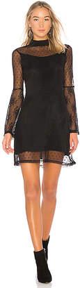 Somedays Lovin Starry Eyed Mesh Mini Dress