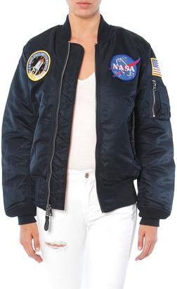 Alpha Industries Nasa Flight Jacket $199 thestylecure.com
