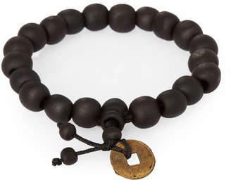 Jean Claude Wooden Bead Bracelet