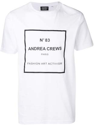 Andrea Crews graphic print T-shirt